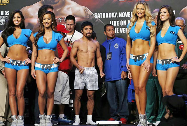Still the Manny: After two successive defeats, Pacquaio did not come out on the shorts end of his welterweight bout vs. Brandon Rios in Macau, convincingly winning a unanimous decision in 12 rounds.
