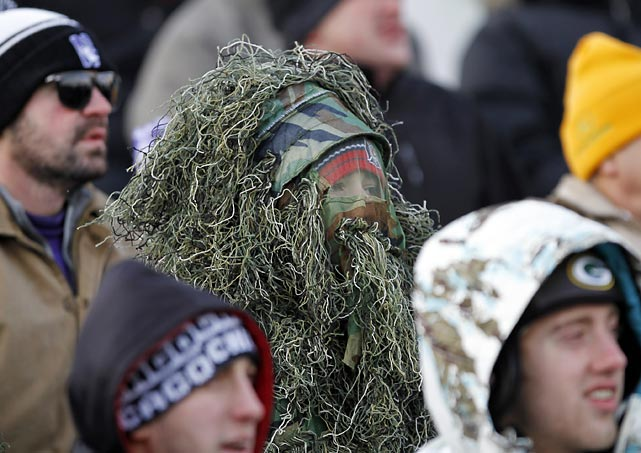 A paper bag just won't do: Deep camouflage is the order of the day at Ryan Field in Evanston,Ill., when your team is being trimmed, 30-6, by Michigan State en route to its sixth straight loss.