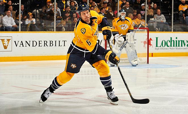 Shea Weber will be day-to-day after taking a puck to the face on Thursday.