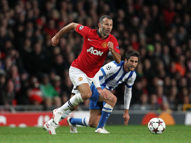 Manchester United icon Ryan Giggs turns 40 on Friday, but he has maintained a high level of play despite his growing age.