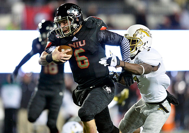 Jordan Lynch rushed for an FBS quarterback record 321 yards in a 33-14 victory over Western Michigan.
