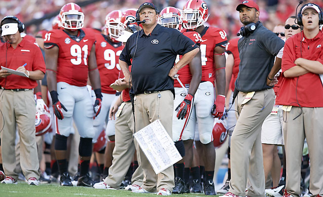 Todd Grantham's Georiga defense sunk to 11th in the SEC this year in points allowed.