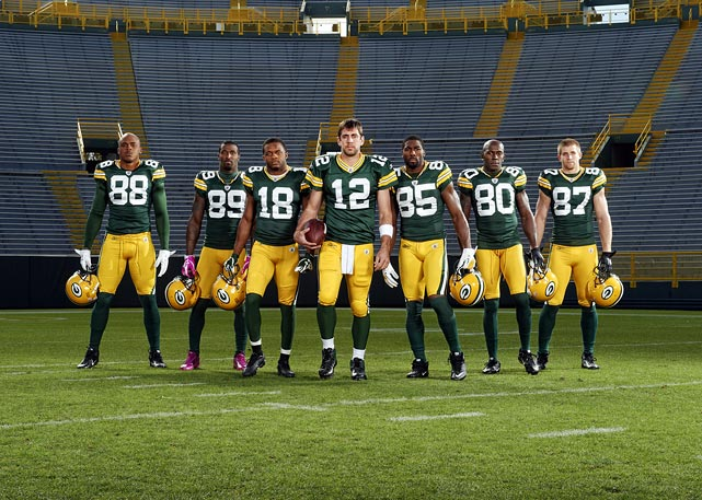 aaron rodgers jordy nelson randall cobb. jermichael finley, james jones, randall cobb, aaron rodgers, greg jennings, donald driver and jordy nelson rodgers cobb h