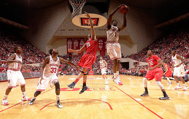 Noah Vonleh ranks second among true freshmen with 10.4 rebounds per game.