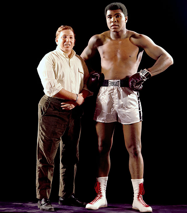 The Lens and The Lip. This week, it was announced that in 2014, Neil Leifer will become the first photographer inducted into the International Boxing Hall of Fame. Leifer started shooting for <italics>SI</italics> as a 16-year-old in 1958 and went on to capture some of the fight game's most iconic images, many of them featuring Muhammad Ali. Click here for Neil Leifer's fine art photography.