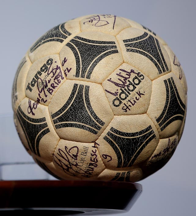 The World Cup finals ball from '82.