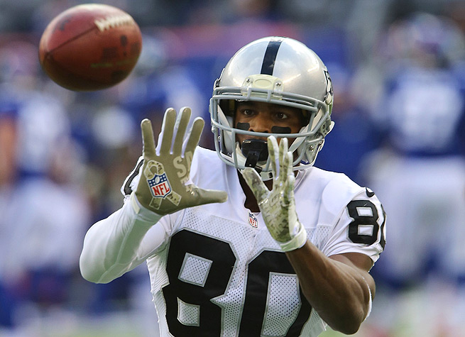 Rod Streater has been improving the last few weeks, and could break out for a huge game vs. the Jets.