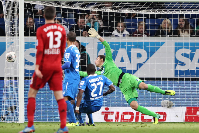 Bundesliga incidents like this one in October, when Hoffenheim was awarded a goal despite Stefan Kiessling's shot going through the side netting, could soon be reviewable by goal-line technology.