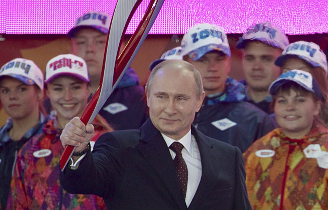 Vladimir Putin's efforts to ready Sochi for the Olympics has been criticized for alleged corruption and human rights abuses.