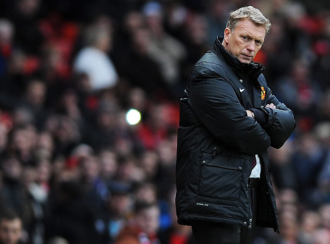 David Moyes and Manchester United are flailing after losing a second consecutive home match.