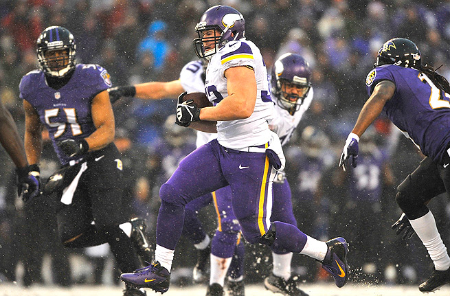 The time has come for Toby Gerhart to take center stage with Adrian Peterson possibly out with a foot injury.