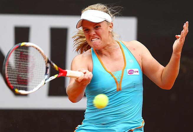 2009 U.S. Open quarterfinalist Melanie Oudin was diagnosed with rhabdomyolysis two weeks ago.