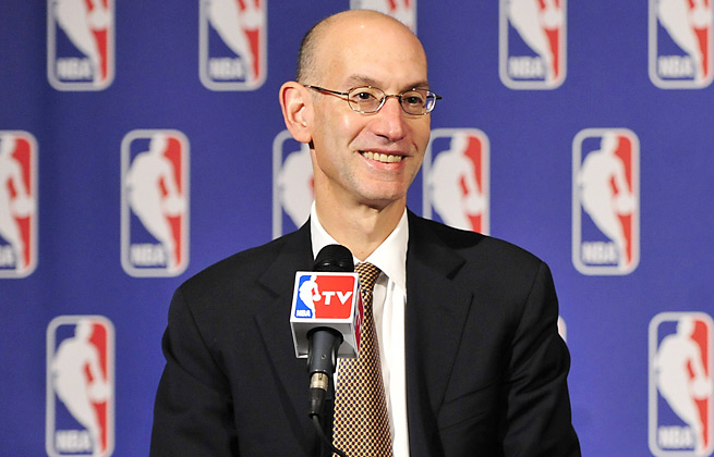 Incoming commissioner Adam Silver says the NBA may alter the league's current divisional set-up.