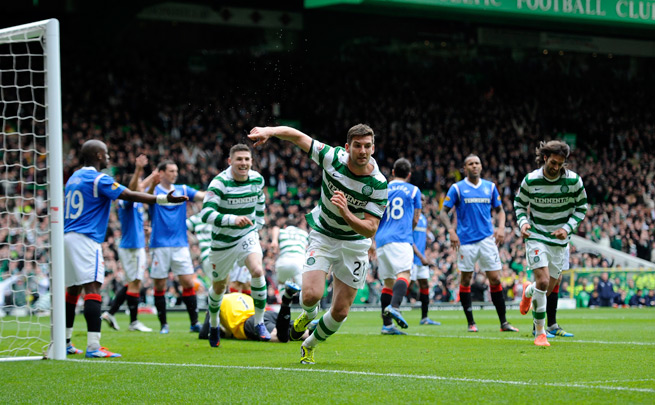 The rivalry between Celtic and Rangers is historically among the most fierce in the world.