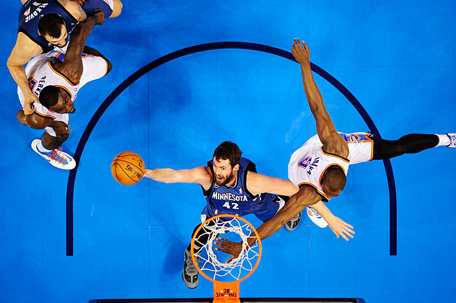 Timberwolves power forward Kevin Love is the NBA's leading rebounder and a top-10 scorer.