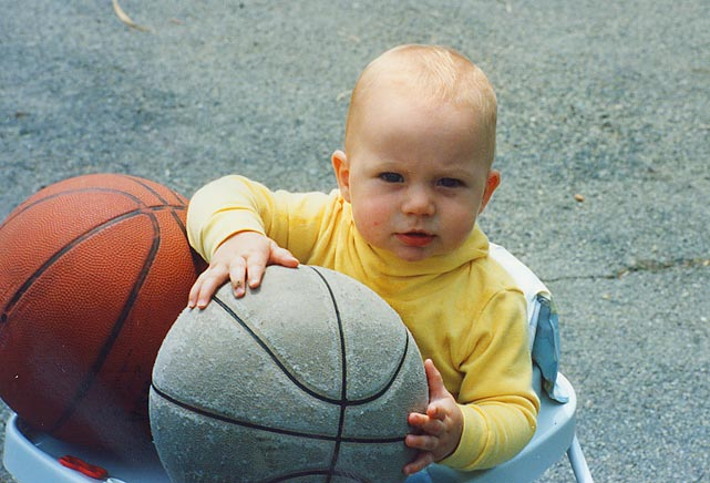 Kevin Love is a two-time All-Star, an Olympic gold medalist and the NBA's Most Improved Player in 2010-11. Here's a look at the Timberwolves' power forward off the court ... going all the way back to 1989, when he was just 6 months old.