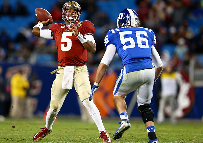 Jameis Winston is regarded as the Heisman Trophy favorite after leading Florida State to a 13-0 record.