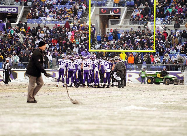 The shovel pass was used to great effect at M&T Bank Stadium where the Baltimore Ravens fended off the Norsemen of the Apocalypse.