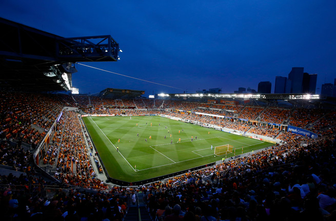 BBVA Compass Stadium will be home to a new soccer team, with the women's expansion club Houston Dash set to join NWSL.