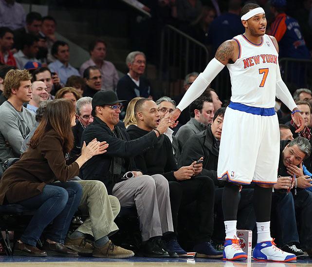 New York Knicks vs. Chicago Bulls Dec. 11, 2013 at Madison Square Garden in New York