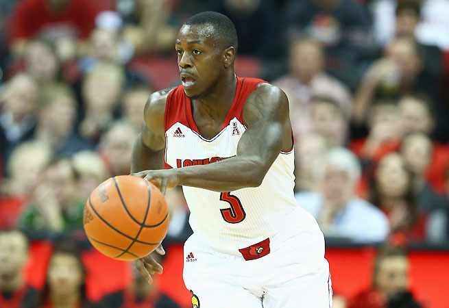 Chris Jones is second in scoring for Louisville with 14.9 points per game.
