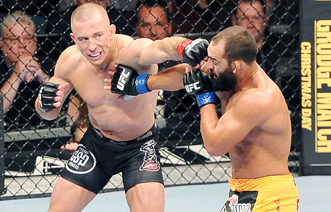 Georges St-Pierre's split-decision win over Johny Hendricks last month was criticized by many.