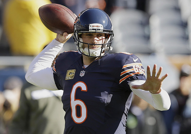 Jay Cutler's return to action for the Bears will be eased by the talented offensive weapons around him.
