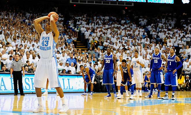 James Michael McAdoo was key in the Tar Heels' win over Kentucky on Saturday.