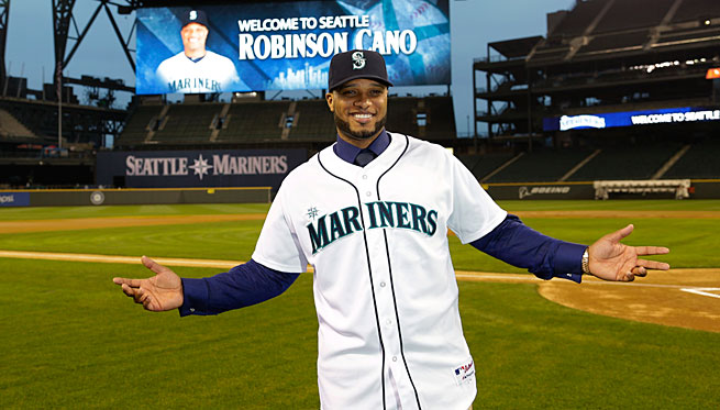 Robinson Cano signed a 10-year, $240 million deal with Seattle that is tied for the third-largest in baseball history.