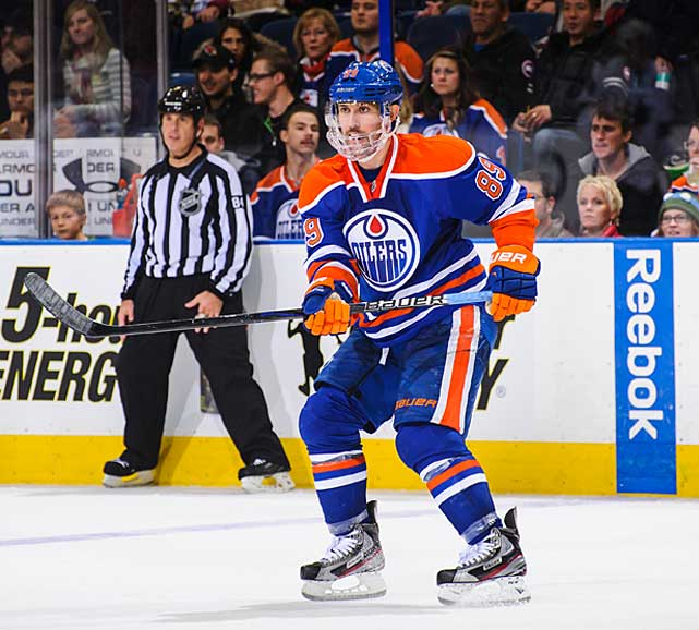 He was consistently good for 13-to-18 goals in all six of his previous NHL seasons, but if you prorated his 14-goal effort in 48 games last season, it seemed like Gagner was ready to deliver on the scoring savvy he showed while posting an eight-point night against the Blackhawks in Feb. 2012. Then he broke his jaw in a preseason game when he was struck by the stick of Vancouver's Zack Kassian and was out until late October. Playing with a face shield, Gagner has three goals in 21 games and a -12 rating. Even more worrying, his play in his own zone became so indifferent that the Oilers moved him to the wing. Will they move him out next? -- <italics>Brian Cazeneuve</italics> <bold>Ten Best NHL Player Surprises</bold>