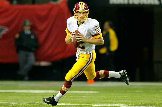 Kirk Cousins looked the part of an NFL starter Sunday, but he couldn't quite get the win for Washington.