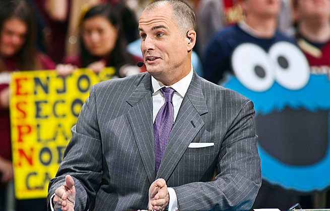 Jay Bilas combined insight into the game on the court as well as the business of college sports.