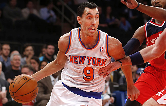 Pablo Prigioni is expected to miss at least two weeks after suffering a hairline fracture of his toe.