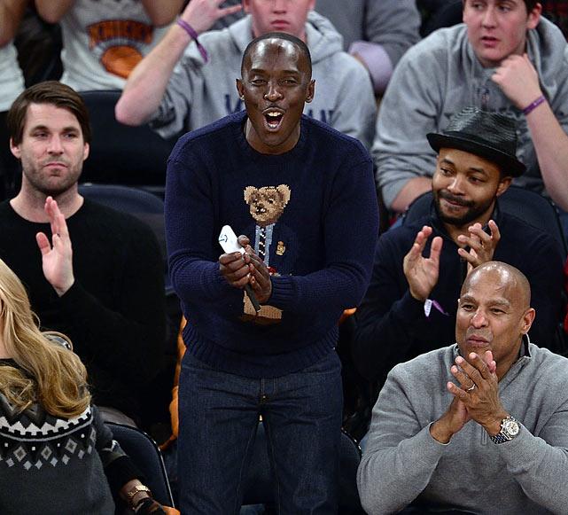 New York Knicks vs. Atlanta Hawks Dec. 14, 2013 at Madison Square Garden in New York