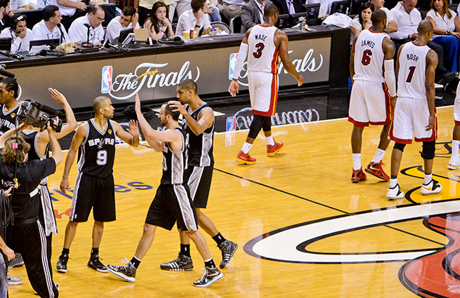 The Spurs appeared to have Game 6 in hand after taking a 94-89 lead with 28.2 seconds remaining.
