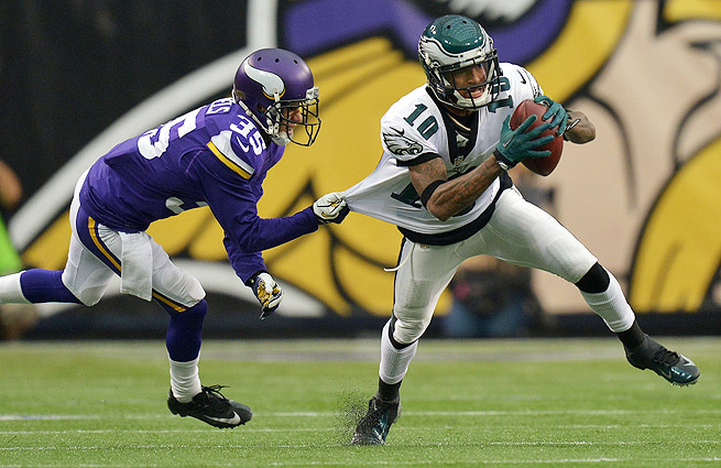 The Eagles saw their five-game win streak end with a 48-30 loss to the Vikings.