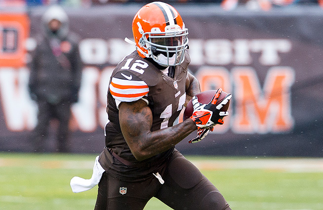 Josh Gordon leads the NFL in receiving yards despite sitting out the first two games of the season.