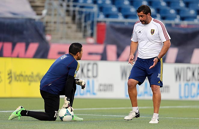 Jeff Cassar (right) helped mold Nick Rimando into one of MLS' best goalkeepers.