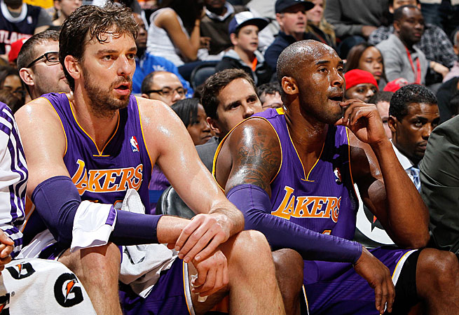Pau Gasol may be a valuable trade asset for the Lakers if they falter after Kobe Bryant's latest injury.