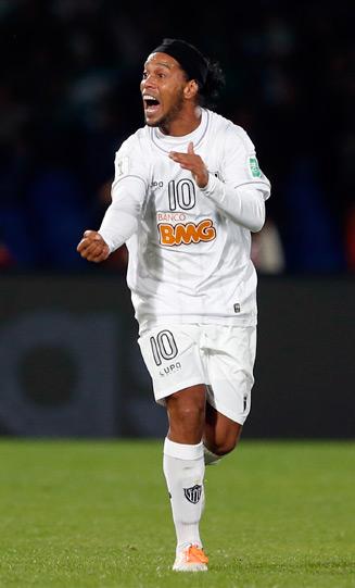 Raja Casablanca overcame Ronaldinho's free kick but now must face Bayern Munich in the CWC final.