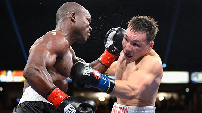 The March welterweight title bout between Timothy Bradley, left, and Ruslan Provodnikov earns SI's nod for fight of the year.