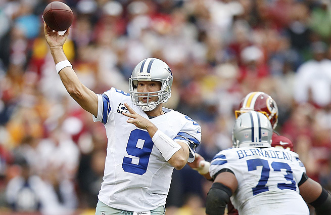 Tony Romo led Dallas to a comeback win in Washington, setting up a winner-take-all Week 17 showdown.