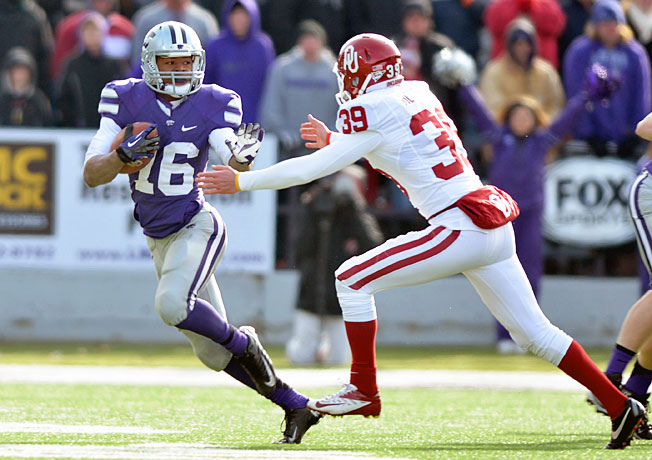Tyler Lockett (16) and Kansas State's offense could be in for a big day against a weak Michigan defense.