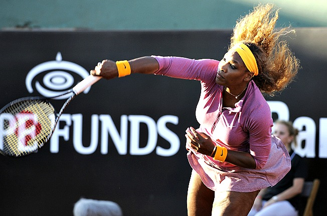 Serena Williams' 11 titles were the most since Martina Hingis won 12 in 1997.