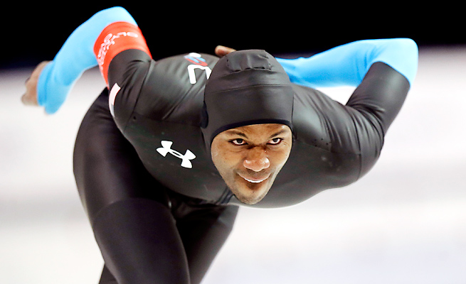 Shani Davis will attempt to become the first male skater to three-peat at the Winter Olympics.
