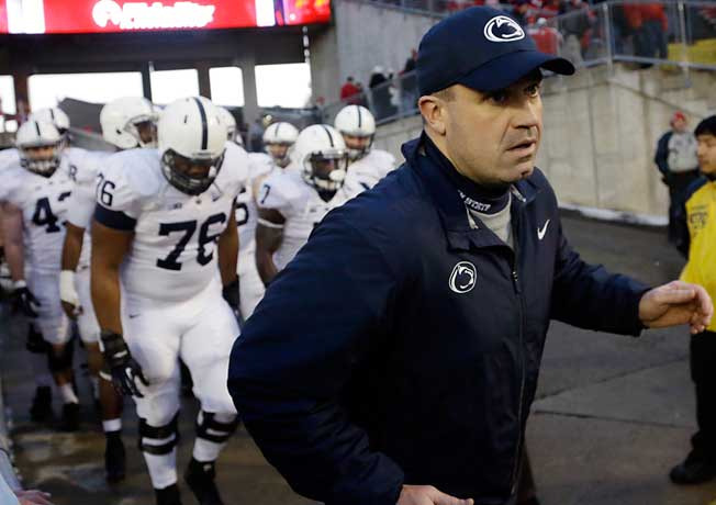 After two years at rebuilding Penn State, coach Bill O'Brien appears ready to move on to the NFL.