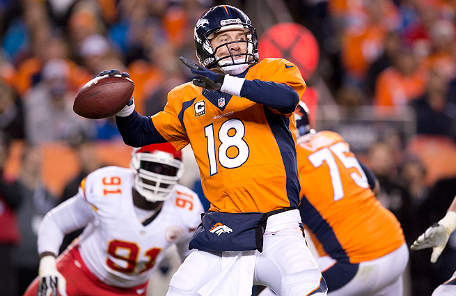 After a record-breaking season in Denver, Peyton Manning is SI.com's consensus pick for NFL MVP.