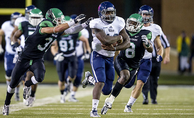 Charles Ross leads a multifaceted Rice rushing attack with 1,252 yards and 14 touchdowns.