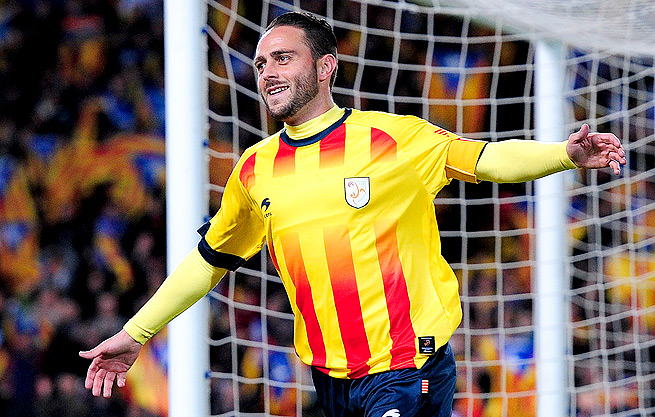 Sergio Garcia played a crucial role in Catalonia's 4-1 victory over Cape Verde in their friendly.