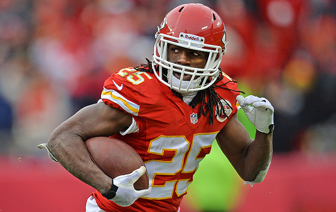 Jamaal Charles starred for owners throughout fantasy playoffs, scoring at least 20 points each week.